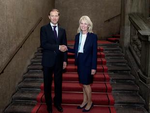 Заседание наблюдательного комитета по торгово-экономическому сотрудничеству, Стокгольм, 15.10.2021