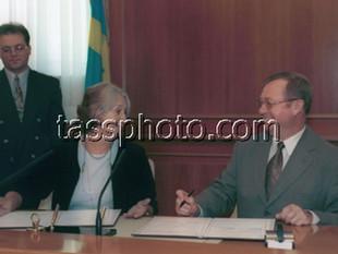 Переговоры глав органов государственно-финансового контроля России и Швеции, Москва, 5 сентября 2001