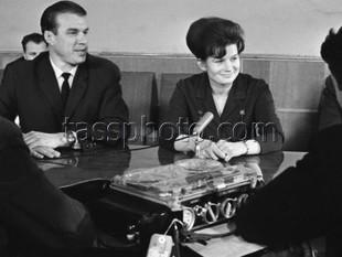 Besöket av den sovjetiska kosmonavten Valentina Teresjkova till Sverige den 14 april 1966