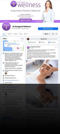 As Designed Wellness Facebook Profile