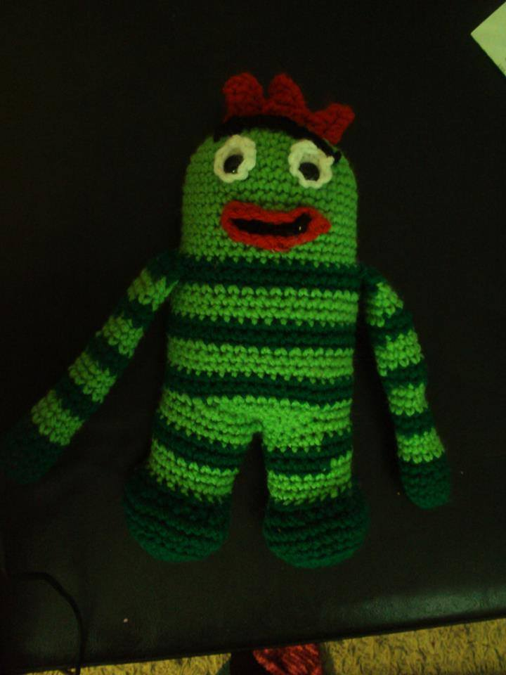 Brobee Crochet toy