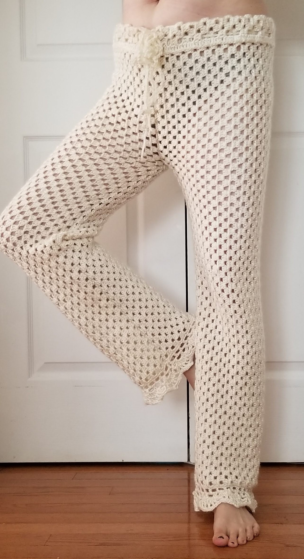 Easy free pattern for crochet lounge pants