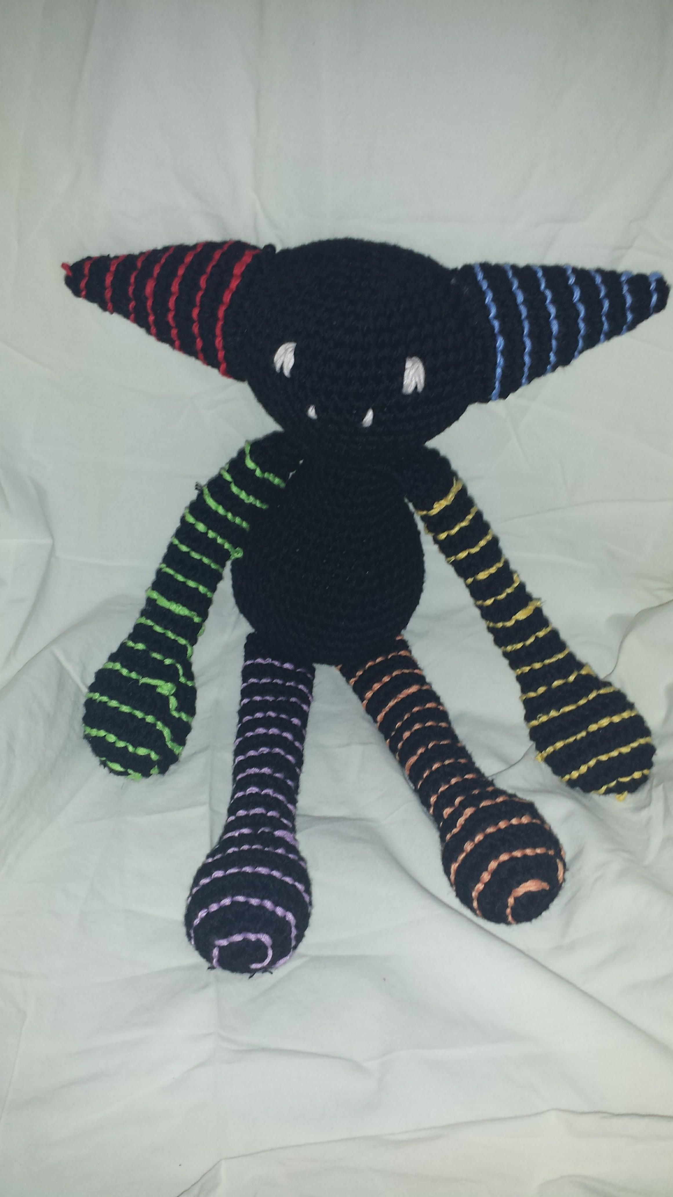 Lazertag crochet