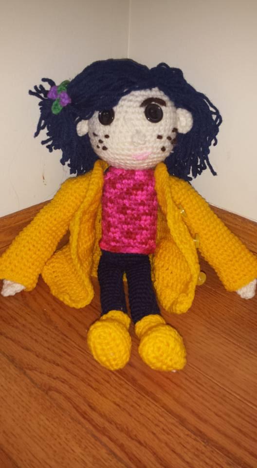 Crochet Coraline