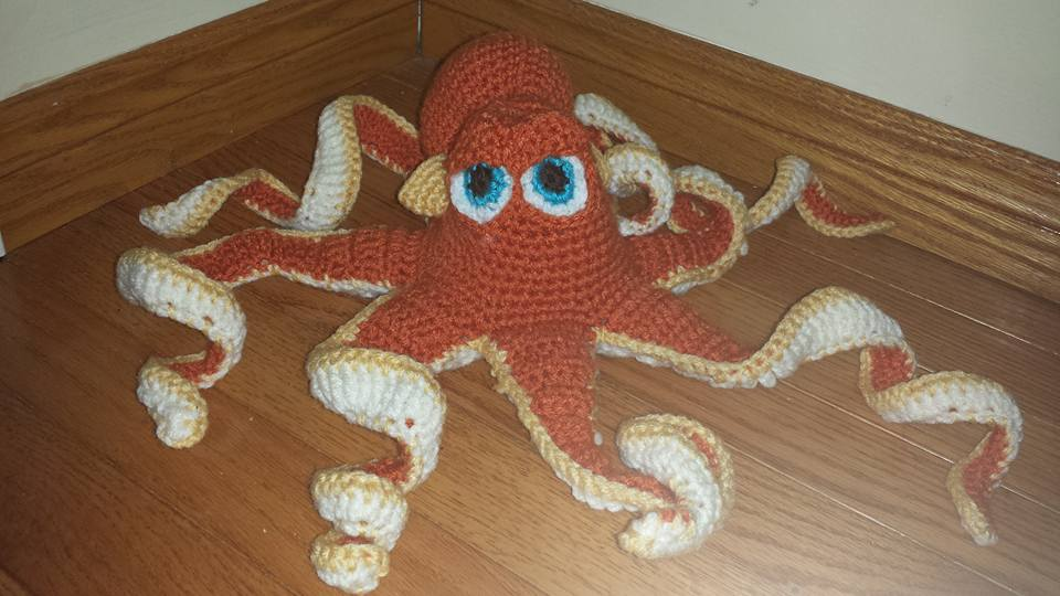 Hank the Septopus Crochet