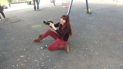 מצלמת קליפ של שיר