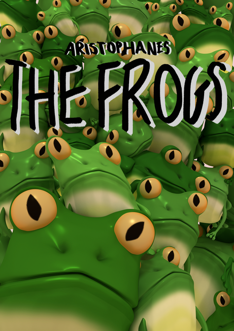 Aristophanes' 'The Frogs' illustrated poster