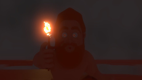 Let there be fire 3D animation