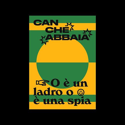Can che abbaia - Poster