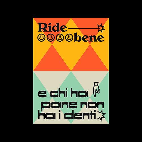 Ride bene - Poster