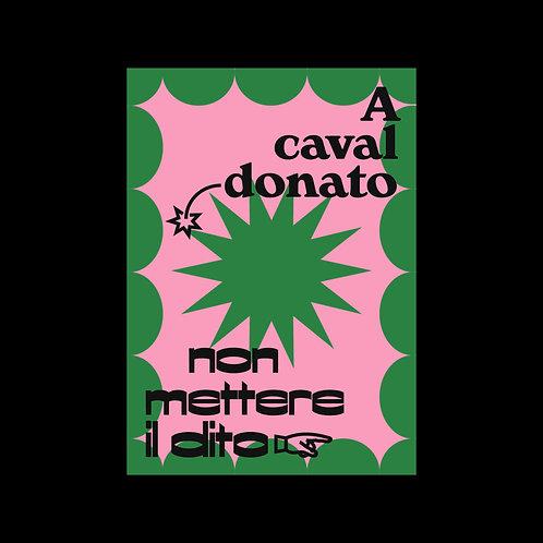 A caval donato - Poster