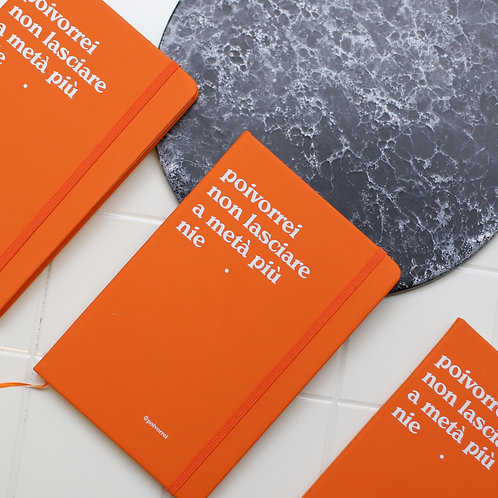 notebook moleskine poivorrei