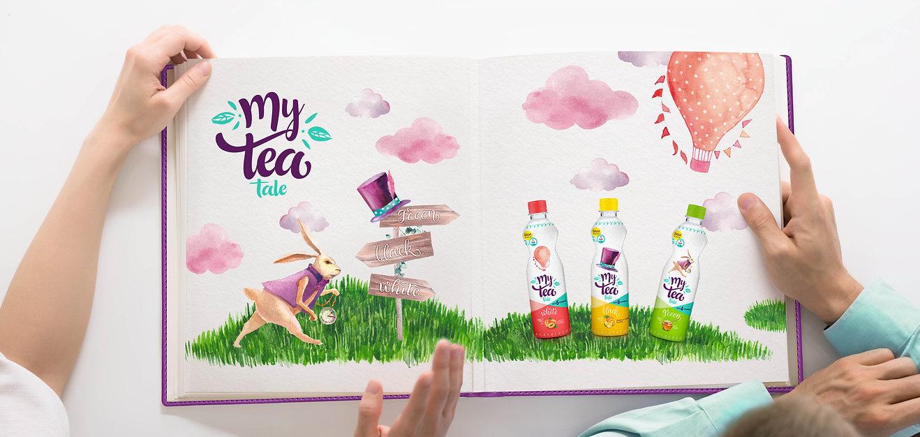My tea tale Vitamin drink