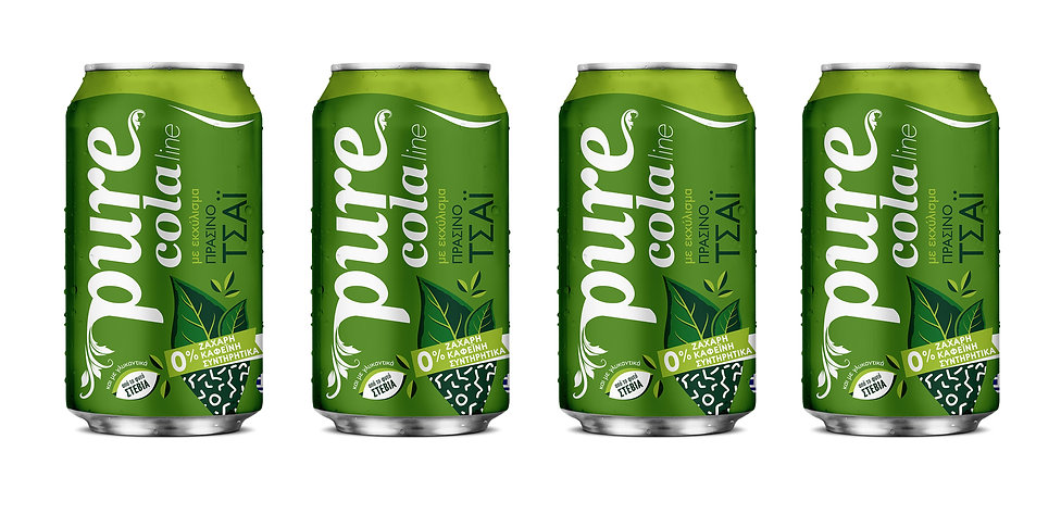 Pure Cola packaging