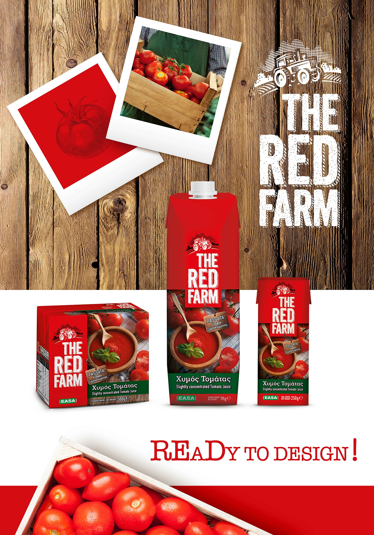 The Red Farm tomato juice