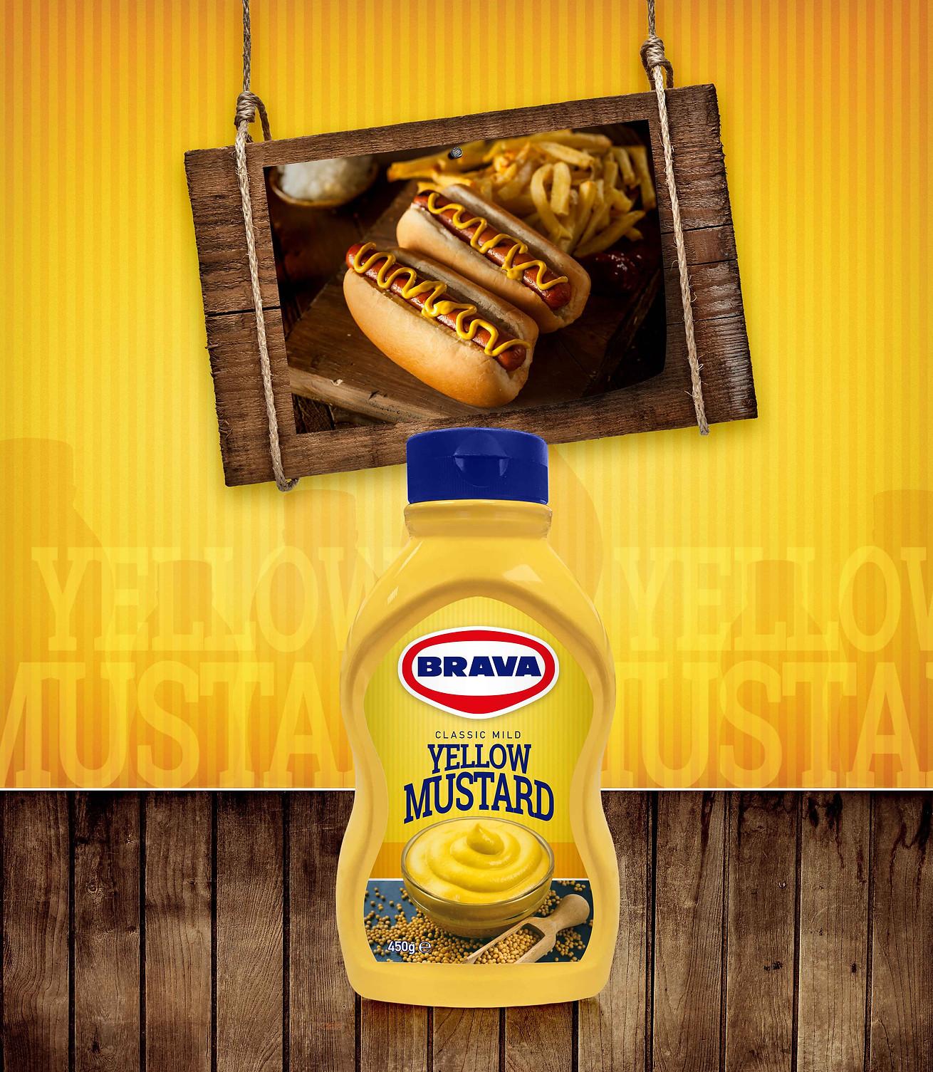Brava Yellow Mustard