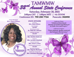 TAMWMW - 2021 State Conference FLYER