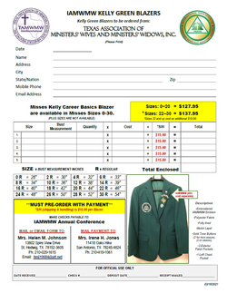 IAMWMW 2021 - Kelly Jacket Form (IAMWMW