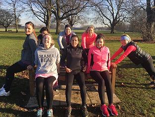 Mums fitness class, Richmond