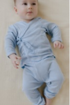 Baby bamboo PANTS - blue
