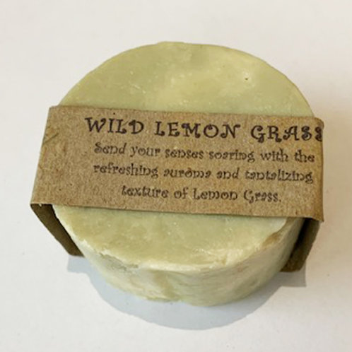 Soap Bar 'Wild Lemon Grass' - small