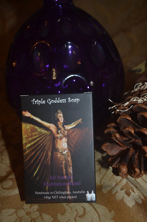 Triple Goddess Soap