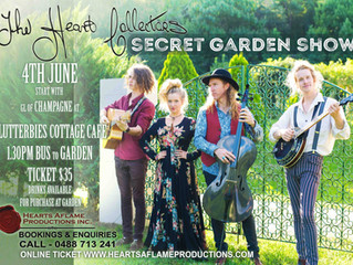 Music In The Garden - This Saturday!