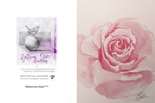 Gift Card - watercolour rose