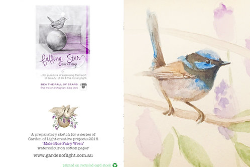 Gift Card - watercolor wren