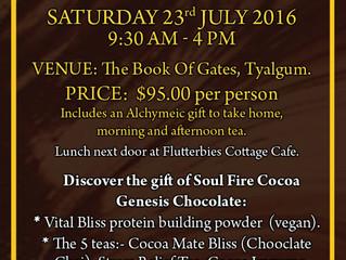 Chocolate Workshop - 23rd July 2016