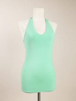 Blue Canoe Organic Cotton Sheer Halter - Apple - Large