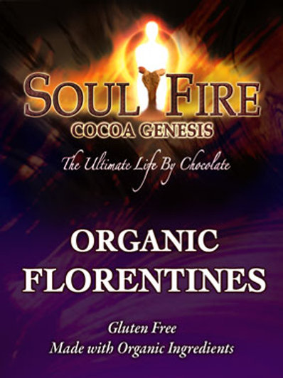 Soul Fire Chocolate Florentines box
