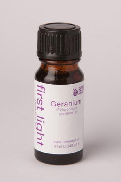 Geranium - certified organic essential oil