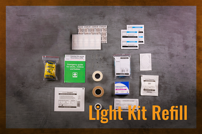 Light First Aid Kit Refill