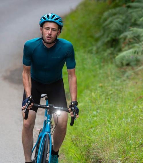 Josh Quigly cycling