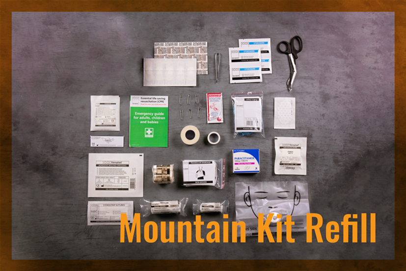Mountain First Aid Kit Refill