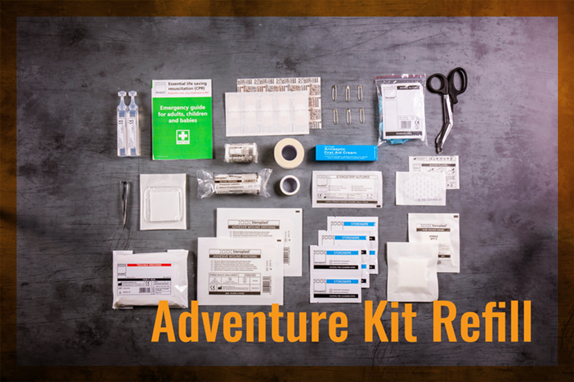Adventure First Aid Kit Refill
