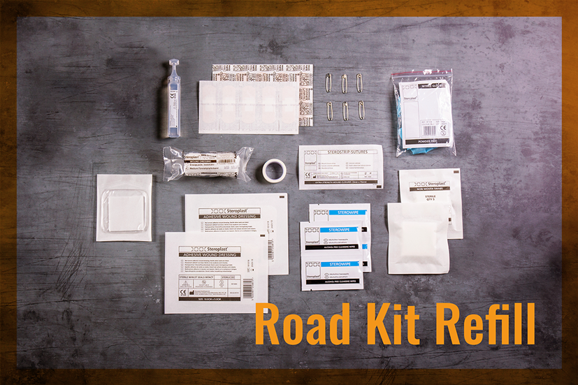 Road First Aid Kit Refill