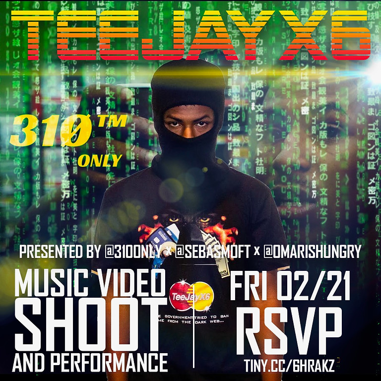 Tee Jay X6 Concert and Music Video