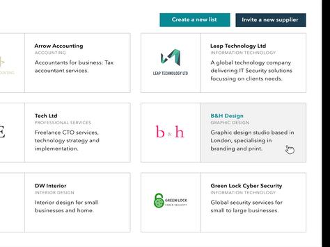 Optimising your company profile