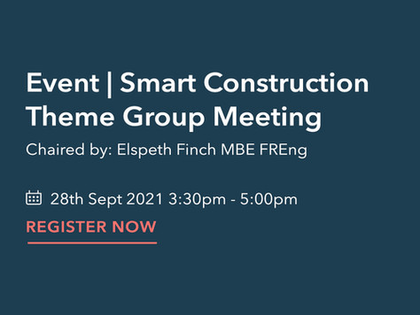 Smart Construction Theme Group Meeting