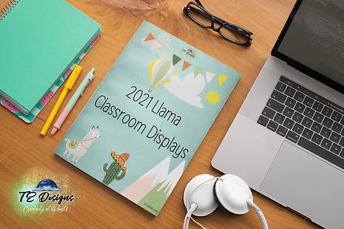 Llama Classroom Display Pack