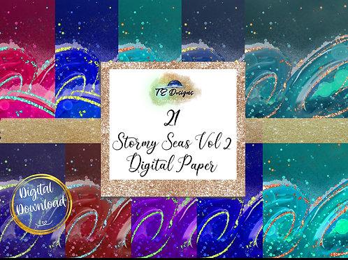 Stormy Sea Vol 2 Digital Papers