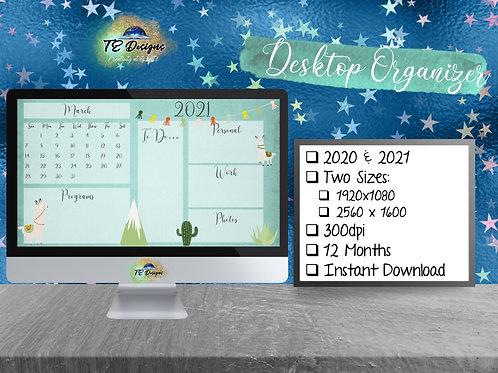Llama Desktop Organizer
