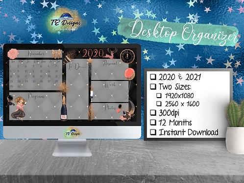 New Year Desktop Organizer