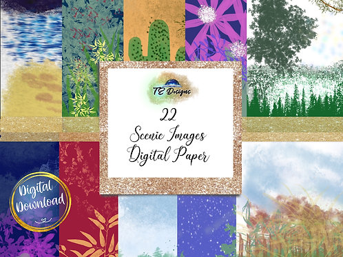 Scenic Images Digital Papers