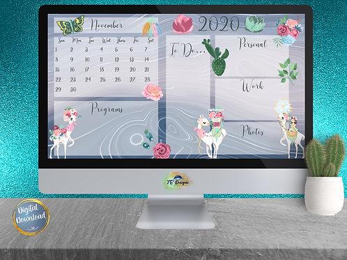 La Llama Desktop Organizer