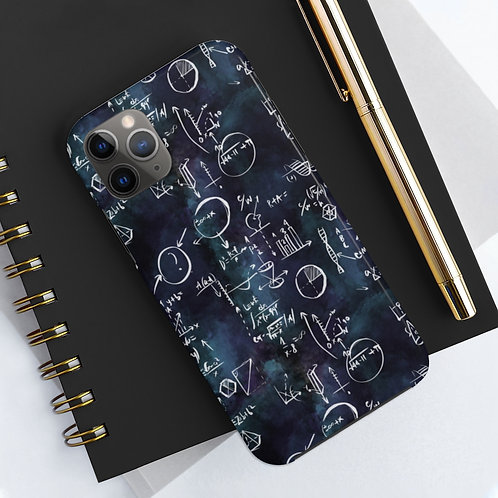 Black Equation, Maths and Science Phone Case
