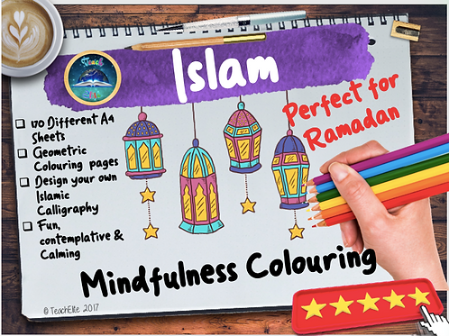 Ramadan Mindfulness Colouring
