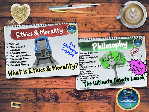 Philosophy Debate & Ethics and Morality Lessons